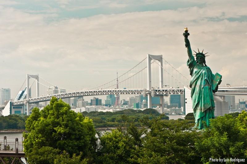 Rainbow Bridge y Estatua de la Libertad