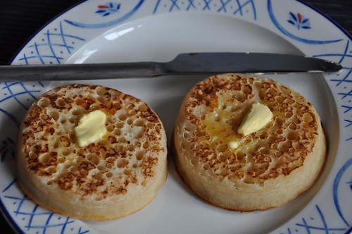 Hot English crumpets by JohntheFinn