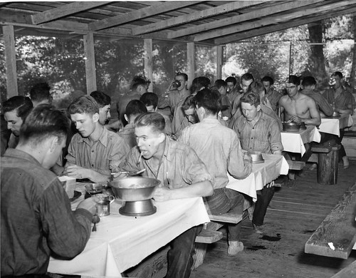 Civilian Conservation Corps Mess Hall