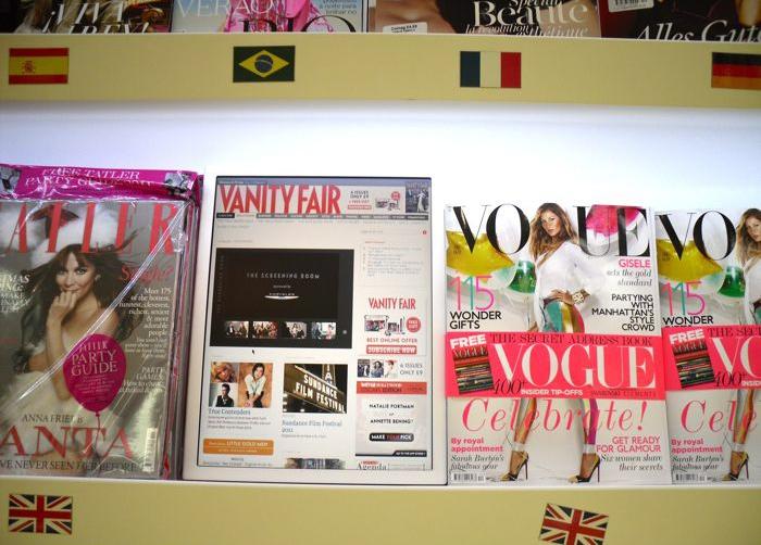 conde nast magazine and videos