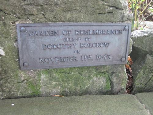 Garden of Rememberance, Marton