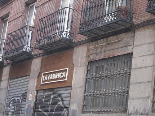 La Fábrica, Barrio de Las Letras. Madrid