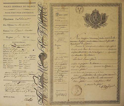 Pasaporte francés