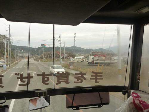 陸前高田市気仙町でボランティア(レーベン隊) Volunteer at Kesencho, Rikuzentakata, Iwate pref. Deeply Affected Area by the Tsunami of Japan Earthquake