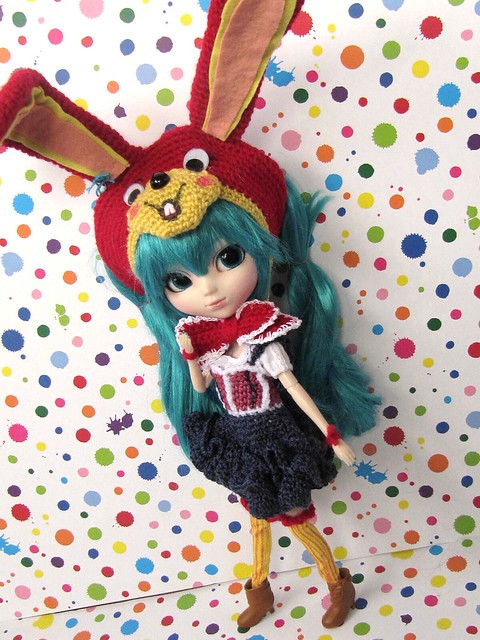 Miku LOL crocheted