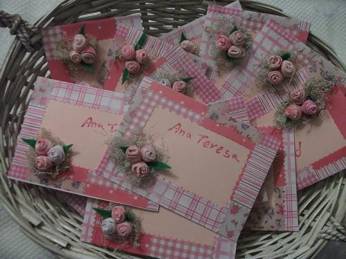 Convites patchwork  by Irene Sarranheira