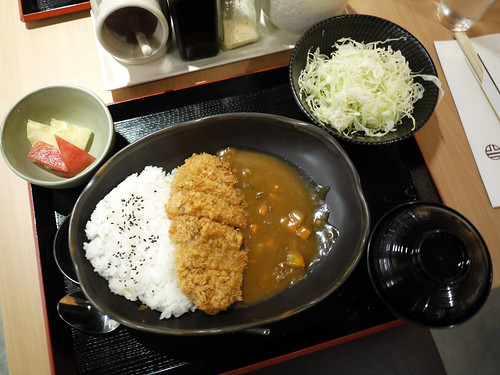 Chicken Katsu Curry Set Meal at Yabu - 2
