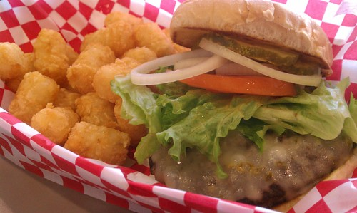 Burger and Tots from Sin Wagon
