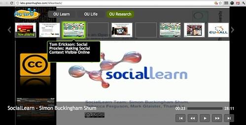 @liamgh's OU leanback TV app demo