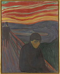 Edvard Munch's, Despair, 1894