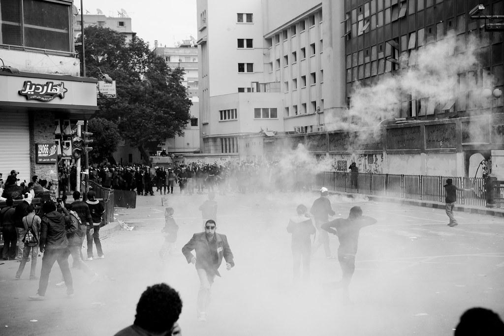 Tear Gas قنابل الغاز