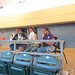 Fans were treated to color commentary in the UH AUW Softball Tourment at Les Murakami Stadium on Sept. 30, 2011