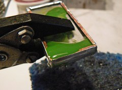 Soldered wax pendant experimentation 4