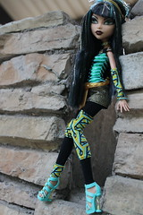 182/365- Monster High Cleo