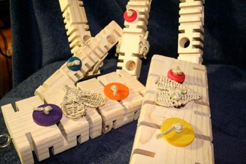 Unboxing Kris Porter's Fantastic Foraging Blocks
