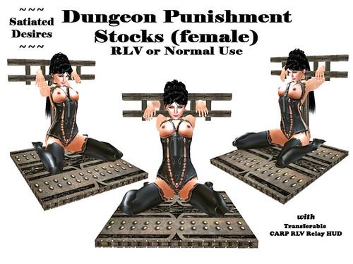 RLV Dungeon Punishment Stock (female)