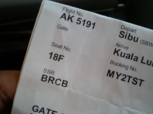 Air Asia - 18F