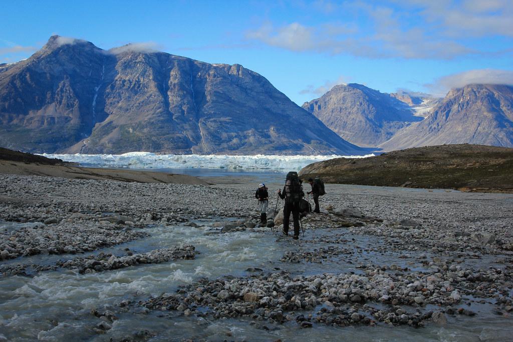 Sermilik fjord! East-Greenland.