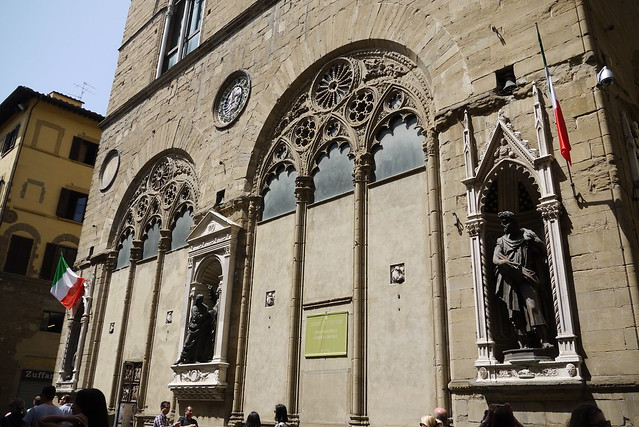 Chiesa di Orsanmichele 佛羅倫斯聖彌額爾教堂 by Richard, enjoy my life!, on Flickr