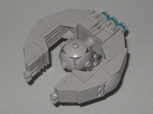 Trade Federation Battleship by Mini_Wizardy