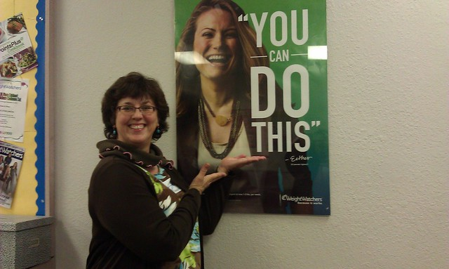 Joining Weight Watchers and getting inspired by Esther Crawford, fellow CA10 alum