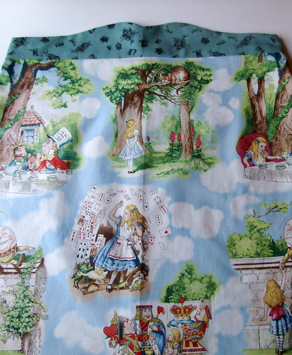 Alice In Wonderland, Colette Ginger pattern