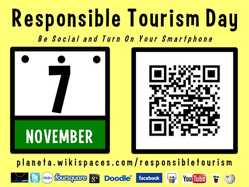 Responsible Tourism Day is November 7