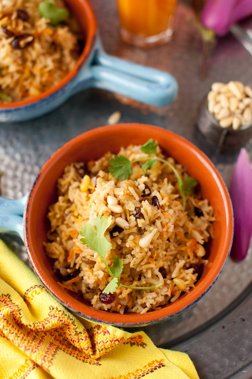 Rice with Pine Nuts 1