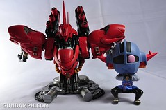 Formania Sazabi Bust Display Figure Unboxing Review Photos (132)