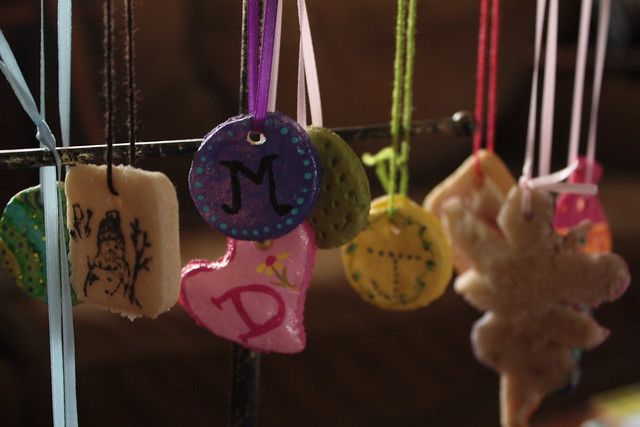 Making Salt Dough Ornaments and Gift Tags