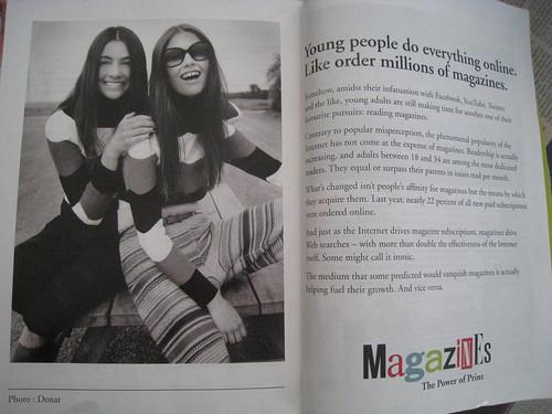 Magazines & The Internet