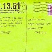 Henry Rollins Postcard