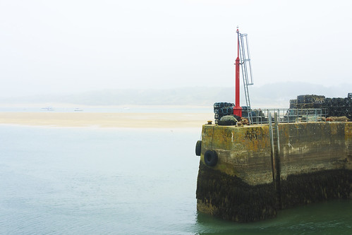 Padstow Harbour Wall