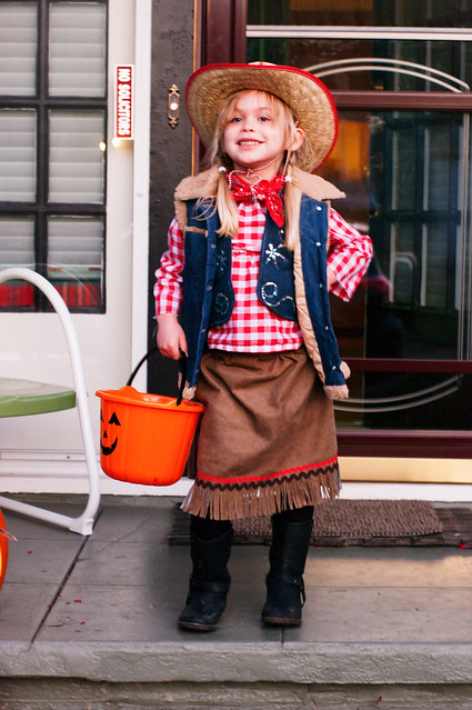 sadie cowgirl about to treat or treat 1