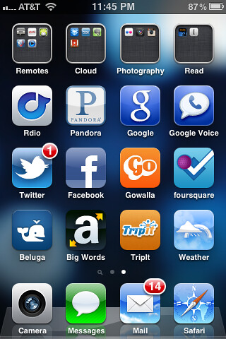 Reset phone. 1st 25 apps I needed or thought about.