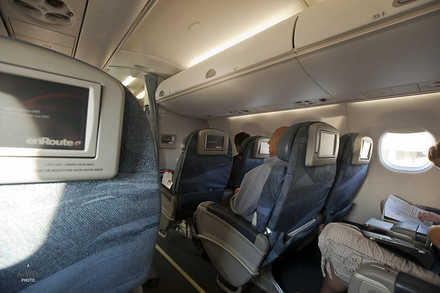 Executive Class Cabin on Embraer E90