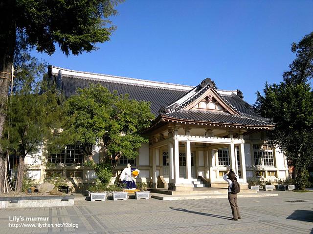 彰化武德殿,被整修的非常漂亮。