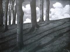 Vorfrühling, 1908, by Otto Scharf