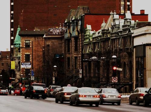 Rue Sherbrooke, Montreal