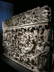 Detail, The Portonaccio Sarcophagus, 2nd century AD, photographer unknown