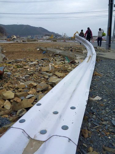 女川町を一日歩く Walk around Onagawacho (Miyagi pref.), Severely hit by Great East Japan Earthquake and Tsunami