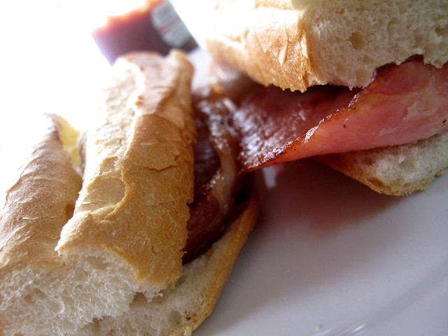 The Old School Bacon Sandwich