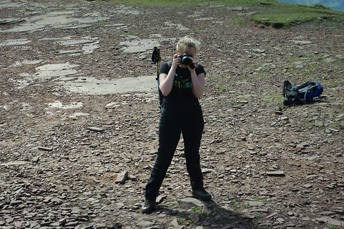 20110821-33_Taking Photo of Midland Hill Walkers on Pen y Fan Summit by gary.hadden
