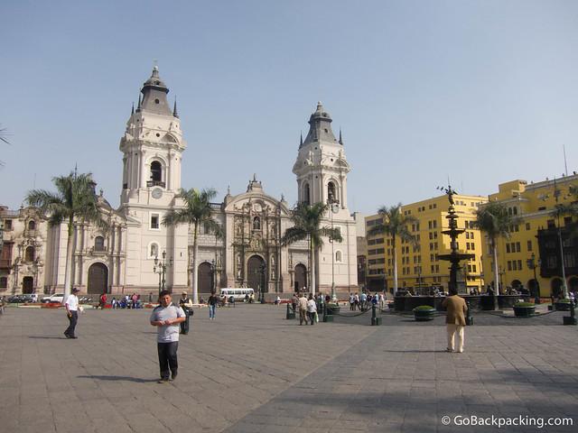 Plaza Mayor & Lima Cathedral