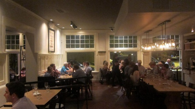 the dining room at the one eared stag