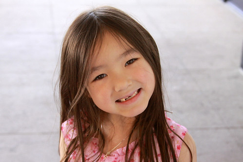 my daughter's beautiful smile, ~ 6 years old