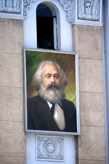 Karl Marx in North Korea