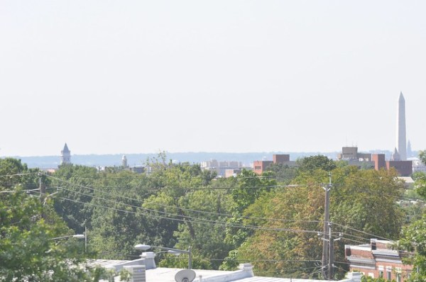 Southwest view from roof