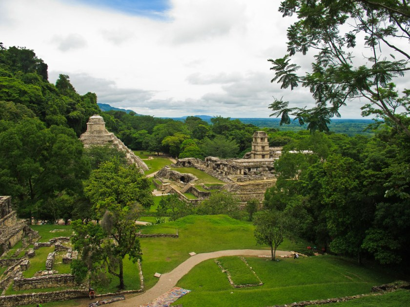 Temple of the Inscriptions and the Palace, Palenque