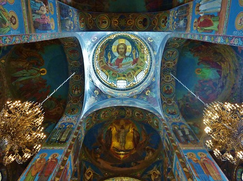 The Church of Our Saviour on the Spilled Blood,St.Petersburg,Russia